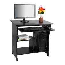 1pc black desktop computer table pc laptop table office workstation computer table corner home study office cheap office workstations