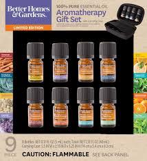 Better Homes & Gardens <b>100</b>% <b>Pure Essential</b> Oils 9 Pack Travel Set