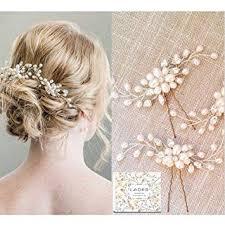 <b>Bridal</b> Hair Pins - <b>3pcs Fashion</b> Retro Elegant Ladies Pearl ...