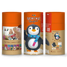 <b>Набор для шитья</b> детский Avenir Мягкая игрушка <b>пингвин</b>, туба ...