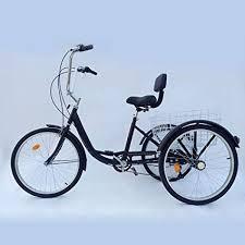 "<b>PRIT2016</b> 24"" 6 Speed 3 Wheel <b>Adult</b> Tricycle <b>Adjustable Adult</b> ..."