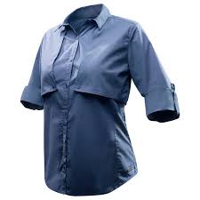 Модульная <b>рубашка женская</b> с длинными <b>рукавами</b> Travel 500 ...