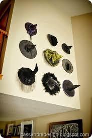 halloween gallery wall decor hallowen walljpg witches hat wall halloween display  witches hat wall halloween display