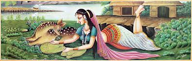 Image result for Shakuntala and Bharat