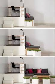 SpaceSaving Bedroom Sets Small Apartment Hacks Bed 1  E