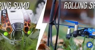 Обзор <b>Parrot Jumping</b> Sumo и Rolling Spider. Роботы наступают!