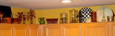 For Decorating A Kitchen Marvellous Ideas For Decorating Above Kitchen Cabinets Wallpaper
