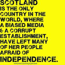 Image result for scotland referendum bias images