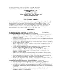 resume summary examples social work sample resumes sample resume summary examples social work resume professional summary examples and tips sample social work resumes sle