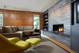 modern track lighting living room contemporary with art lighting chartreuse armchair accent lighting family room