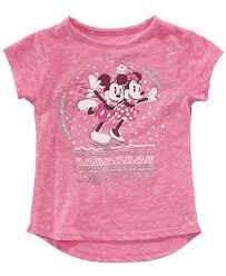 <b>Disney</b> Toddler Girls <b>Mickey</b> & Minnie <b>Mouse Snow</b> Globe T-Shirt ...