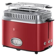 «<b>Тостер Russell Hobbs Retro</b> Ribbon Red 21680-56 ...