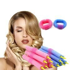 Aleekit New <b>12pcs Soft Hair</b> Curler Hair Bendy Rollers DIY Magic ...