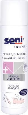 Seni Care <b>Пенка для</b> мытья и ухода за телом, 500 мл — купить в ...