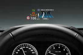 BMW's <b>full</b>-<b>color</b> head-up display could replace the <b>instrument</b> panel ...