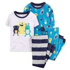 piece snug fit cotton pjs babies baby boy and boys toddler boy 4 piece snug fit cotton pjs carters com