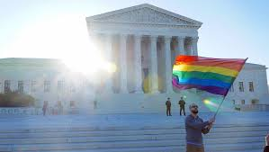 gay term paper sample research paper on gay marriage legalize gay blog ultius ultius man waves gay pride flag outside supreme court