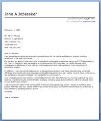 cover letter examples for job applications   business letter    mechanical engineer cover letter sample
