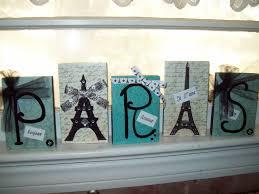 Paris Bedroom Decor Teal And Black Paris Letter Blockseiffel Towerparis