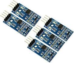 <b>5pcs A3144 Hall</b> Effect Magnetic Field Sensor Switch Module ...