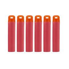 <b>6Pcs Red Sniper Rifle</b> Hollow Soft Head Foam Bullets for Nerf Mega ...