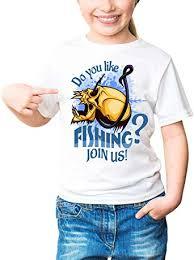 <b>Fisherman</b> - <b>Skull And</b> Hook Kids Girls Classic-T Crew Neck T-Shirt ...