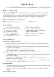 examples of cna resumes resume format  seangarrette conursing resume example certified nursing assistant resume sample professional resume for nurses    examples of cna resumes