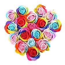 Skymore 16 pcs Handmade Rose <b>Scented Bath</b> Soap Petals ...