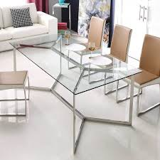 elm stainless steel top dining  ideas about glass dining table on pinterest elegant dining room dinni