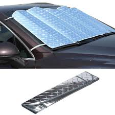 Useful <b>1Pc</b> Casual Foldable <b>Car Windshield Visor Cover</b> Front Rear ...