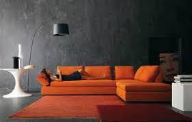 room burnt orange couch decorating ideas using orange sofa in living room freshnist burnt orange furniture