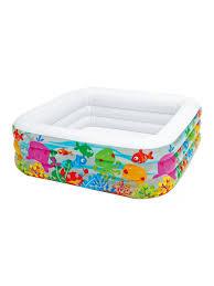 Детский <b>надувной бассейн</b> 159x159x50 см, 340 л, 3+ Intex ...