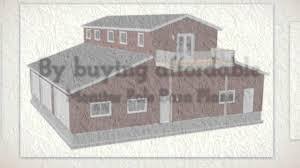 Monitor Barn Plans   Living Quarters   Barn Floor Plans   YouTube