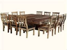 dining table large square seats