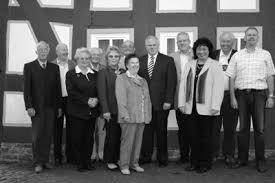 Geehrte Gründungsmitglieder ( v.l. ); Armin Hanstein, Ullrich Menger, Anneliese Horz, Rudolf Rohrbach, Gudrun und Alfred Benner, ... - Gruendungsmitglieder