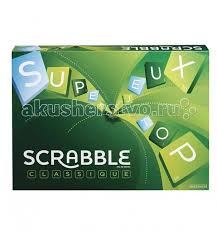 <b>Scrabble Mattel Настольная игра Scrabble</b> классический ...