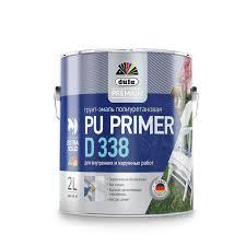 Грунт-<b>Эмаль Универсальная Dufa</b> 0.5л Premium PU Primer D338 ...
