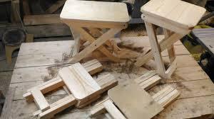 Как сделать <b>складной</b> стул своими руками - YouTube