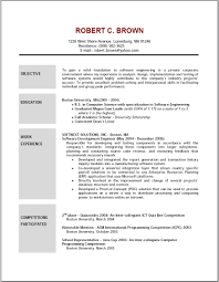 resume  examples of career objectives on resumes  corezume co    career objective resume  example of