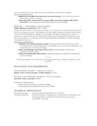managed resources to 2 reduce pr resume template