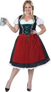 Adult Oktoberfest Beer Wench Costume Plus Size | Party City