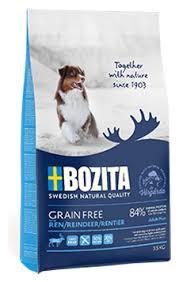 <b>Корм</b> для собак <b>Bozita</b> (1.1 кг) <b>Grain</b> Free Reindeer — купить по ...