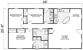 Bedroom House Plans   Bedroom House Blueprints   bedroom    Built Manufactured Homes x Bedroom Bath Square Feet With Bedroom House Blueprints