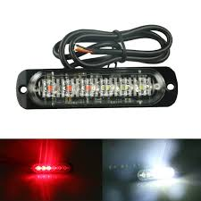 Online Shop 1pc <b>12</b>/<b>24V</b> 6-LED <b>Car Truck</b> Emergency Warning LED ...
