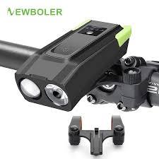 NEWBOLER <b>Smart Induction Bicycle</b> Lights 2 Holder Mount ...