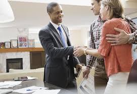 broker s assistant job description financial advisor shaking hands clients