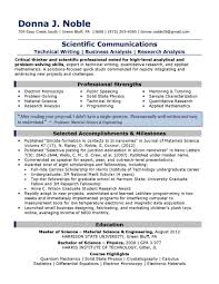 ryerson resume example sample resumes objectives resume examples resume objective career