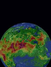 AirVisual Earth - 3D Real-time Air pollution <b>map</b>