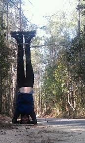 17 best images about traveling headstands parks huge self accomplishment pulling off a headstand at the greenway in north a using 10sec self