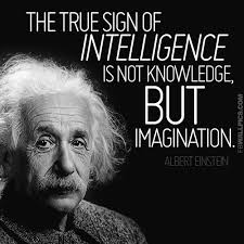 Einstein Quotes On Imagination - einstein quotes logic imagination ... via Relatably.com